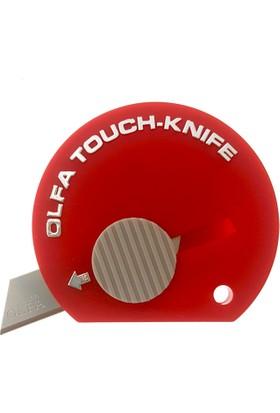 Olfa Mini Cep Tipi Maket Bıçağı N:Tk4 Kırmızı