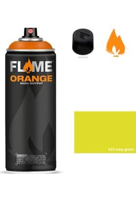 Flame Orange 400Ml Sprey Boya N:623 Crazy Green