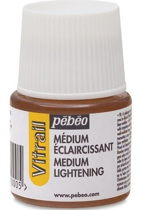 Pebeo Vitrail Lightening Medium,Renk Açıcı Medyum 45Ml