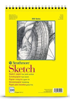 Strathmore Sketch Çizim Defteri 74Gr A3 N:350-93