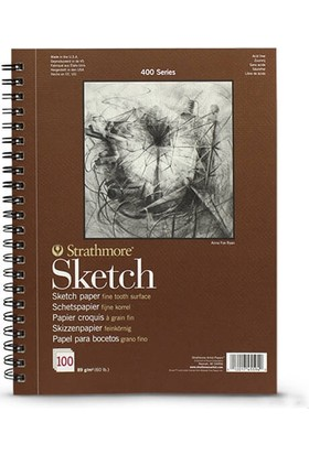 Strathmore Sketch Çizim Defteri 89Gr. - A3 N:455-93