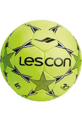 Lescon La-2568 Fosfor Yeşil Futbol Topu 5 Numara