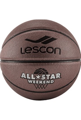Lescon La-2524 Bronz Basketbol Topu Mac 8 Panel 7 Numara