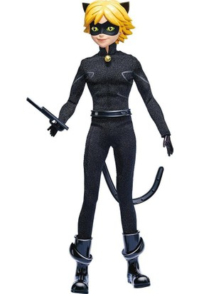 Bandai Miraculous Uğur Böceği Cat Noir - Adrien Fashion Doll 39746