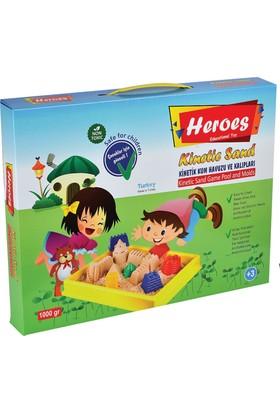 Heroes Kinetik Kum 1000 Gr. Kinetik Kum Havuzlu