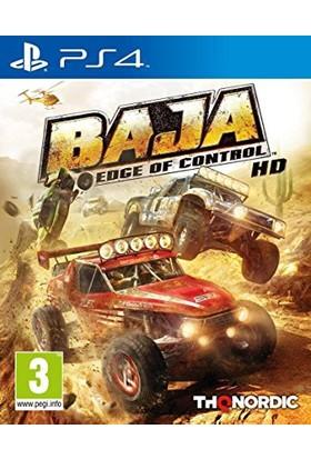 Baja Edge of Control HD PS4 Oyun