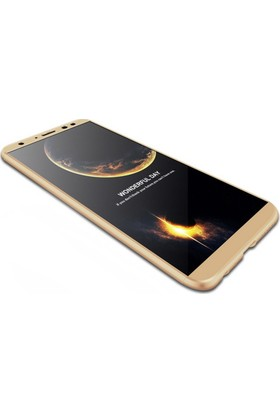 KılıfShop Huawei Mate 10 Lite Tam Koruma Sert Silikon Kılıf