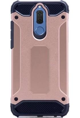 KılıfShop Huawei Mate 10 Lite Heavy Duty Silikon Kılıf + Cam Ekran Koruyucu