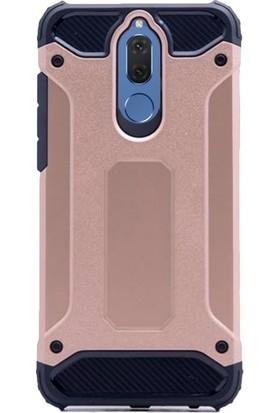 KılıfShop Huawei Mate 10 Lite Heavy Duty Silikon Kılıf + Tam Cam Ekran Koruyucu