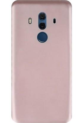 KılıfShop Huawei Mate 10 Pro Premier Silikon Kılıf + Cam Ekran Koruyucu