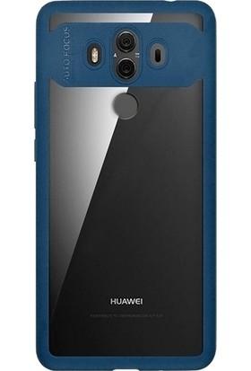 KılıfShop Huawei Mate 10 Pro Desenli Mika Kılıf + Tam Cam Ekran Koruyucu