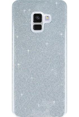 KılıfShop Samsung Galaxy A8 2018 Shinnig Silikon Kılıf