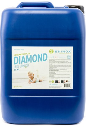Ekinox Diamond Konsantre Plus Leke Sökücü 20 kg