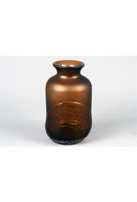 Pasifik Kahve Fıçı Dokulu Vazo