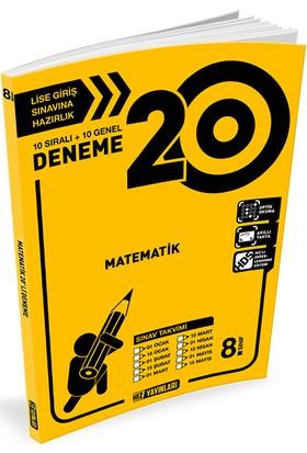 Hız 8. Sınıf Lgs Matematik 20 Deneme