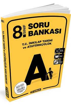 Hız 8. Sınıf T.C. İnkılap Tarihi Ve Atatürkçülük Soru Bankası
