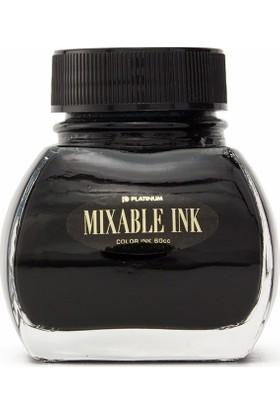 Platinum INKM 1200 Mixable Ink Şişe Mürekkep Siyah