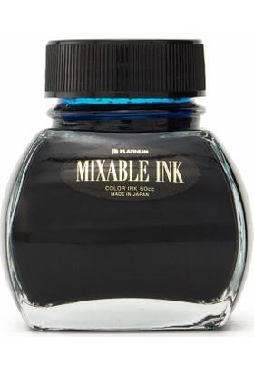 Platinum INKM 1200 Mixable Ink Şişe Mürekkep Açık Mavi