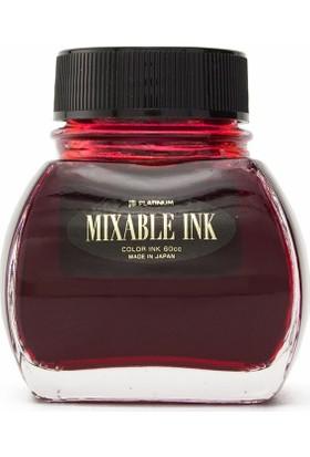 Platinum INKM 1200 Mixable Ink Şişe Mürekkep Alev Kırmızısı