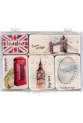 Londra Mini Magnet Seti