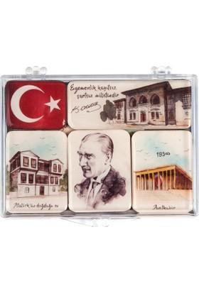 Atatürk Mini Magnet Seti