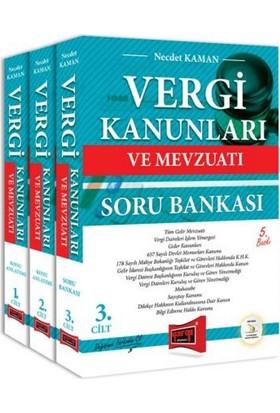 Yargı Yayınları Vergi Kanunları Ve Mevzuatı Konu Anlatımı Ve Soru Bankası 3 Kitap 5. Baskı - Necdet Kaman
