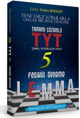 Yargı Lemma Yayınları Tyt Tamamı Çözümlü 5 Fasikül Deneme