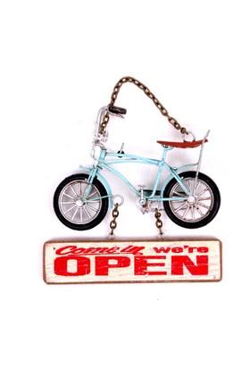 Beha Metal Mavi Bisiklet Kapı Askısı