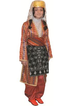 Köylü Pazarı Adıyaman Yöresel Kız Kostümü Halk Oyunları Kıyafeti