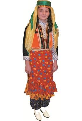 Köylü Pazarı Van Yöresi Kız Kıyafeti Kostümü