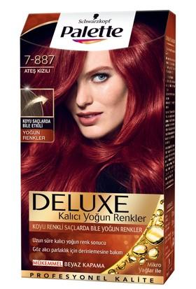 Palette Deluxe Yoğun Renkler Ateş Kızılı 7-887