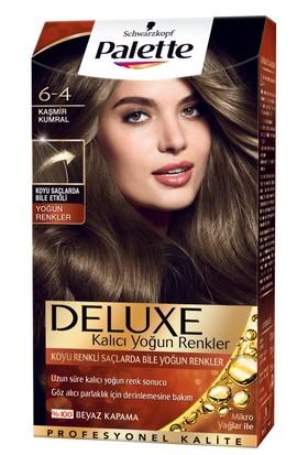 Palette Deluxe Yoğun Renkler Kaşmir Kumral 6-4