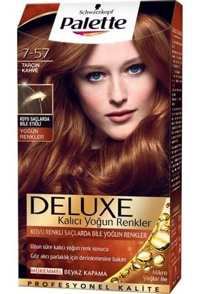 Palette Deluxe Yoğun Renkler Tarçın Kahve 7-57