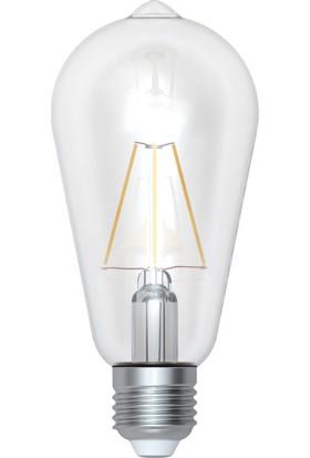 Renesola St64 Filament Bulb E27, 8W, blisterli 2'li paket