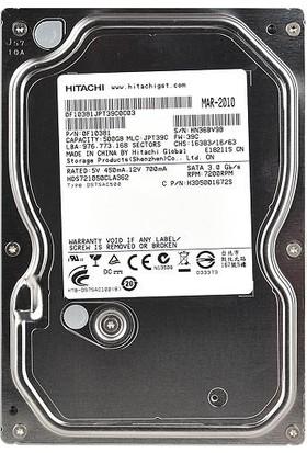 Hitachi Deskstar Hds721050Cla662 500Gb 7200Rpm 16Mb Sata 6.0Gb/S Sabit Disk