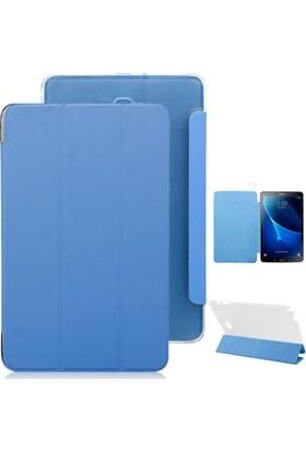 Microcase Samsung Galaxy Tab A P580 S-Pen Smart Cover Kılıf+Tempered Cam