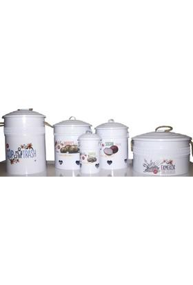 Yıldıray On Parça Mutfak Seti - Ekmek Kutusu + Çöp Kovası + Saklama Kabı Mtst