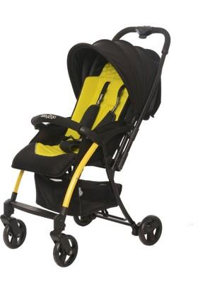 Baby2Go 8020 Pinna Lüks Çift Yönlü Bebek Arabası Sarı