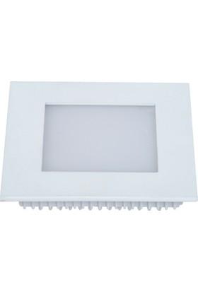 Global 12 Watt Kare Led Panel 6500 K - Soğuk Beyaz