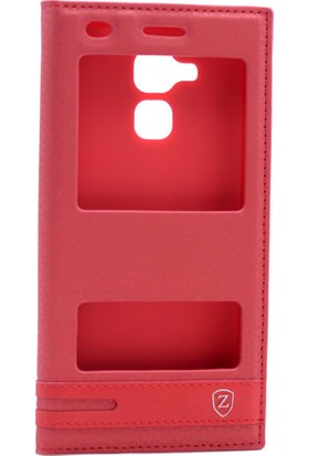 Etabibide Asus Zenfone 3 Max Zc520Tl Kılıf Gizli Mıknatıslı Sentetik Kapaklı Elite