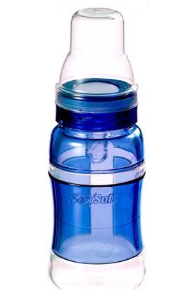 Baby Soft Silikon Biberon 120ml Mavi