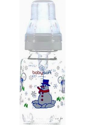 Baby Soft Klasik Cam Biberon 125ml Beyaz