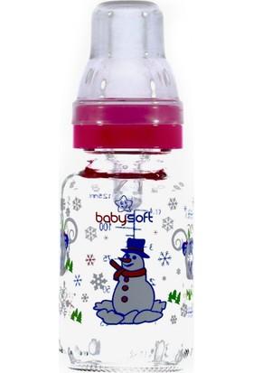 Baby Soft Klasik Cam Biberon 125ml Mavi