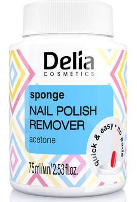 Delıa Sponge Naıl Polısh Remover Acetone 75Ml