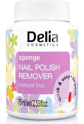 Delıa Sponge Naıl Polısh Remover Acetone Free 75Ml