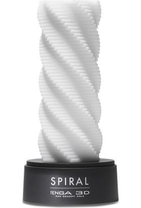 TENGA 3D Spiral (Erkeklere Özel, Uzun Süreli Kullanım) TNH-001