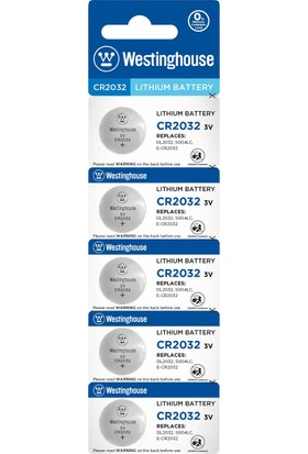 Westinghouse 10 Adet Cr2032 3V Lityum Pil 2 x 5Li Blister