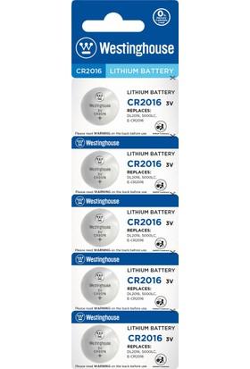 Westinghouse 10 Adet Cr2016 3V Lityum Para Pil 2 x 5Li Blister