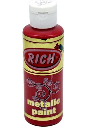 Rich Metalik Parlak Sedefli Boya 746 - Kırmızı 130 cc