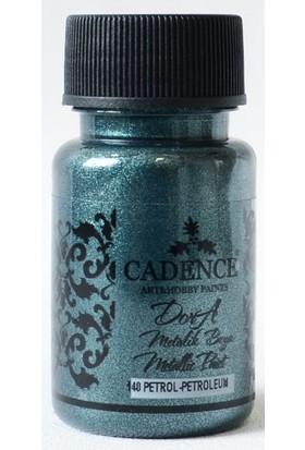 Cadence Dora Metalik Boya 140 - Petrol 50 ml
